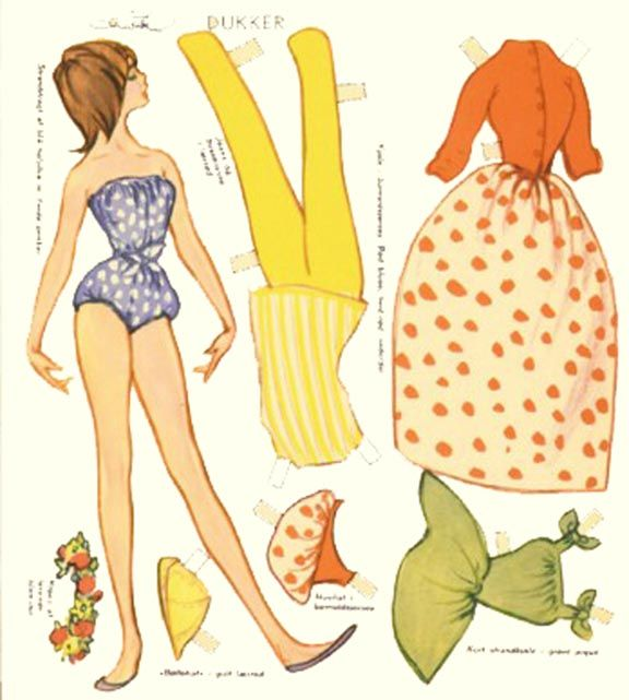 Free Paper Dolls! The Paper Doll Files
