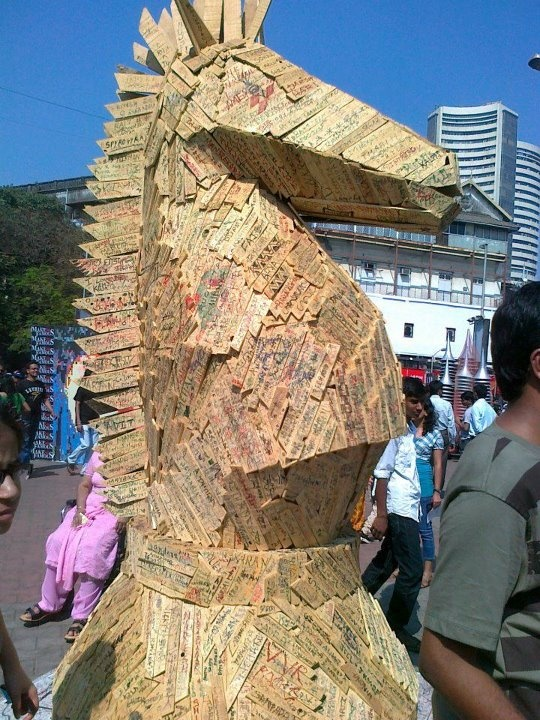 The famous Kala Ghoda Art Festival, Mumbai.   Photo shared by Mr Dharmin Kansara. #CoxandKings