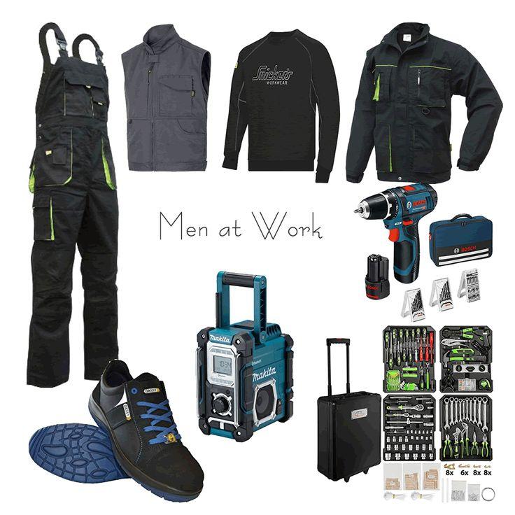 #Handwerkeroutfit – TRIUSO, #TecTake, #Dassy, #Snickers Workwear, #Makita, #Bosch Professional