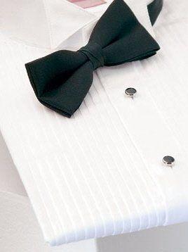 Tuxedo Shirt - 1/4 inch pleat Wing Collar Construction $24.95