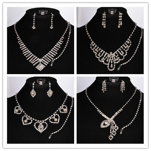 Cheap jewelry settings catalog, Buy Quality set women directly from China jewelry sets for girls Suppliers: Free Shipping Fashion Pearl 18K White Gold Plated Jewelry Sets Crystal Pearl Pendant Necklace Earring Jewlery Sets Whole