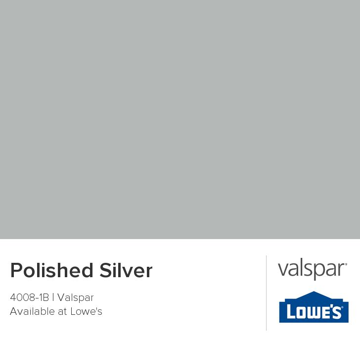 polished silver from valspar bedroom for the home