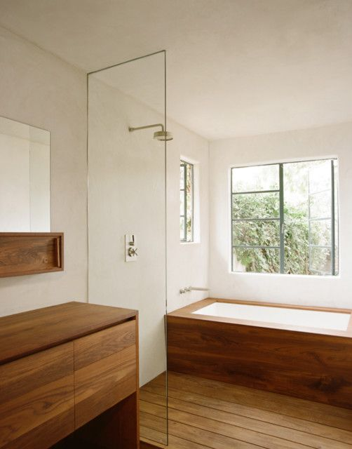 Commune design ... I like the bath and shower combined into one area yet separate ..