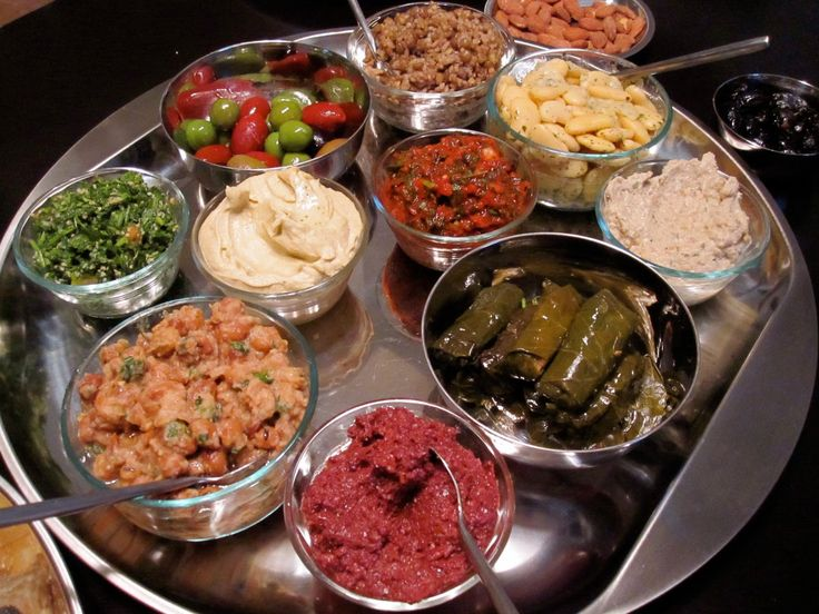 Arabian nights themed party - turkish tapas/meze board starter