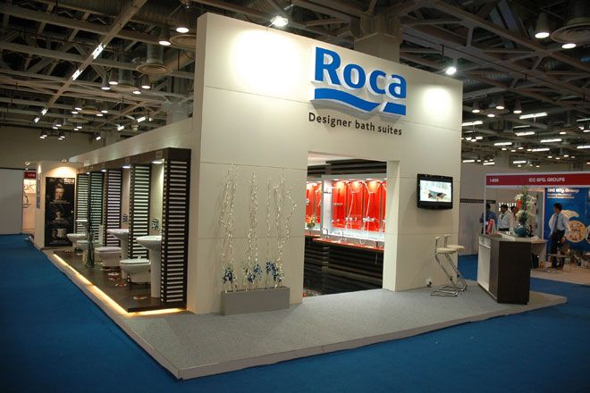 Stand roca buscar con google ideas nueva exposici n for Roca showroom
