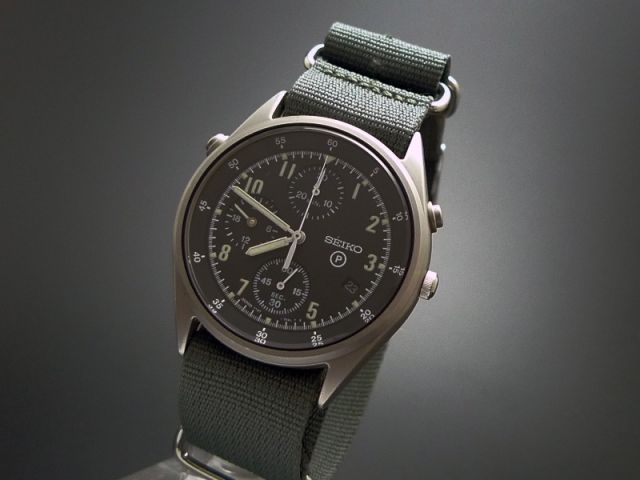 Seiko Military Watch Made For The British Raf Watchshock