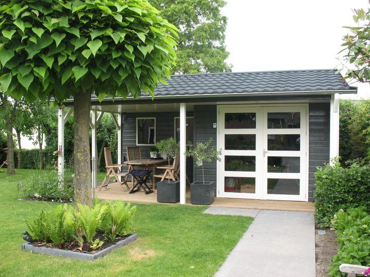 Tuinhuis Linge met veel bergruimte en een fijne veranda
