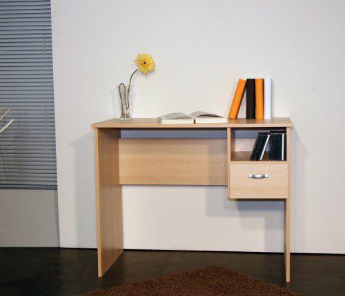 8049-2 - Schülerschreibtisch / Computertisch / PC-Tisch / mehrere Farben (buche)