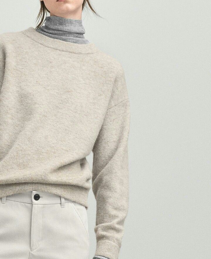 When the temperature drops, layer a thin turtleneck with a heavier crewneck sweater. You can use layering as an opportunity to colorblock. Let DailyDressMe help you find the perfect outfit for whatever the weather!