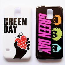 GREEN DAY Music Rock Band Billie Joe Singer Pattern Galaxy S5 S V Case Cover
