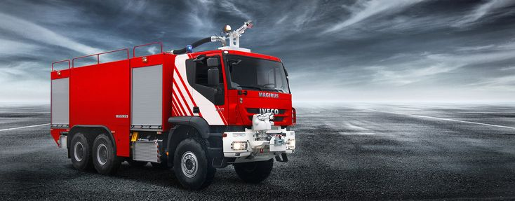 Airport fire engines by Magirus: Magirus Dragon & Magirus Impact