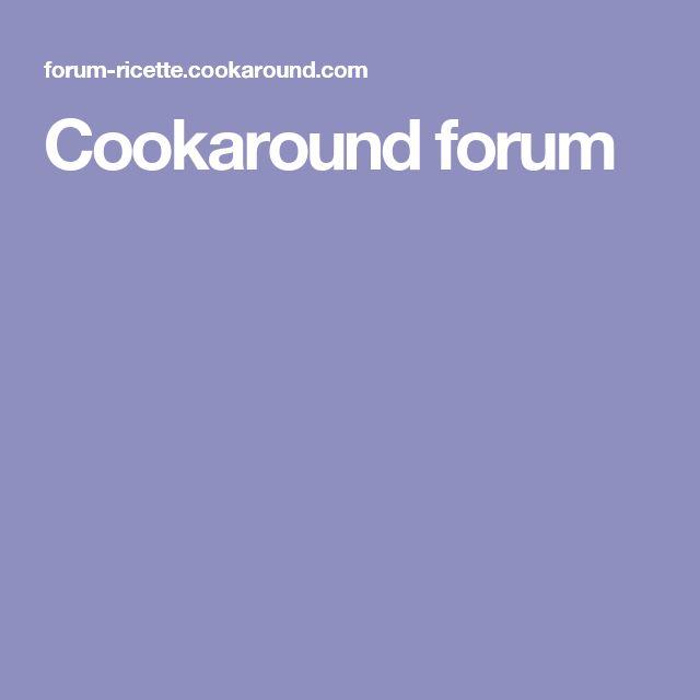 Cookaround forum