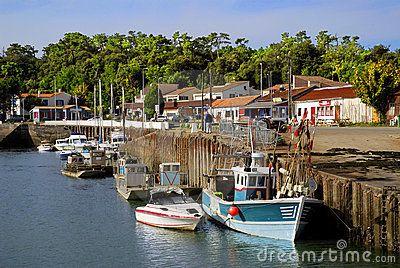 Port de Saint Trojan, Oléron, France