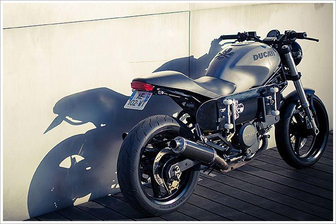 Ducati Monster - Rive Gauche Kustoms - Pipeburn - Purveyors of Classic Motorcycles, Cafe Racers & Custom motorbikes