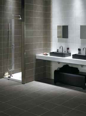 Keraben bathsink with contrasting colors for Carrelage keraben