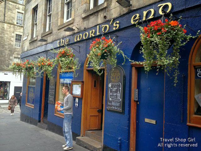 Travel Shop Girl Blog: World's End Pub | Edinburgh, Scotland