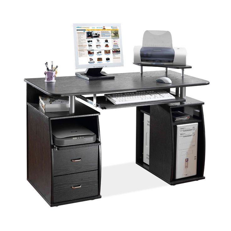 Best Computer Desk Option Eye Candy Images On Pinterest - Desks incorporate recessed computer technology
