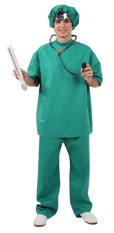 DisfracesMimo, disfraz medico cirujano hombre talla xl. Con este disfraz volverás locas a las enfermeras de tu planta.Qué paciente femenina no querrá que la atiendas en fiestas temáticas.Este disfraz es ideal para tus fiestas temáticas de disfraces de uniformes de trabajo y enfermeras y medicos para hombre adultos.