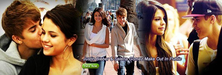 Justin Bieber & Selena Gomez Make Out In Public
