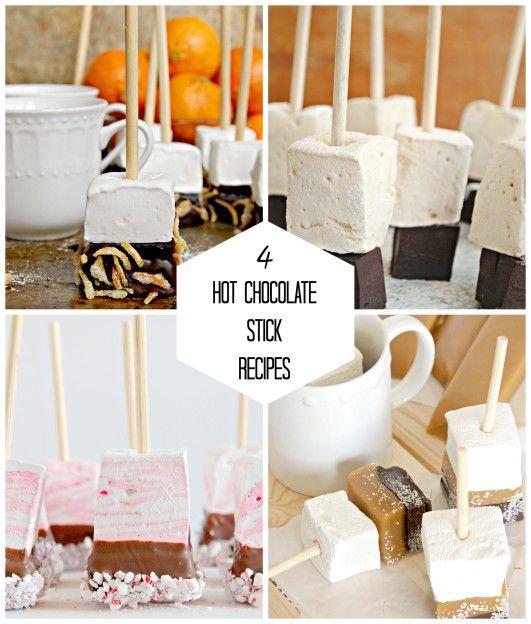 The Kitchen McCabe: Hot Chocolate Stick Roundup