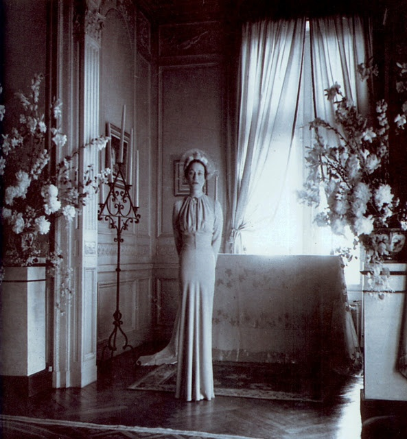 Wallis Simpson, by Cecil Beaton. Photo appears to be from her wedding day