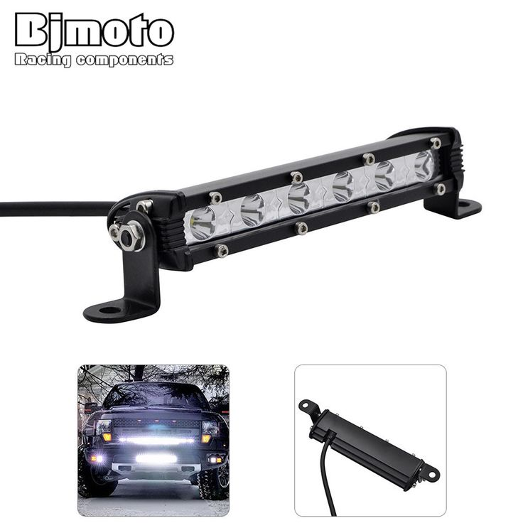 LED Light Bar 36W LED Work Light Fit for 4x4 Truck SUV ATV Jeep Car Combo Beam 12V 24v Trailer Offroad Driving Light //Price: $36.00      #followme