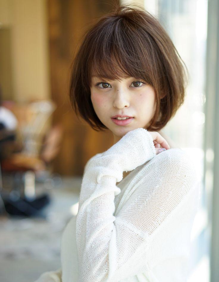ふんわり小顔ショート(MO-391) | ヘアカタログ・髪型・ヘアスタイル|AFLOAT(アフロート)表参道・銀座・名古屋の美容室・美容院
