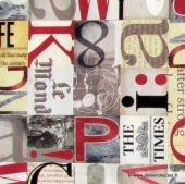 Papier italien imprimé Alphabet- A découvrir à l'Atelier Chez Soi