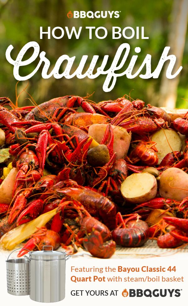 How To Boil Crawfish With Bbq Flavor Bbqguys Recipe Crawfish Boil Recipe Crawfish Boil Spicy Crawfish Boil Recipe