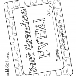 Best Grandma Ever Free Mothers Day Printables