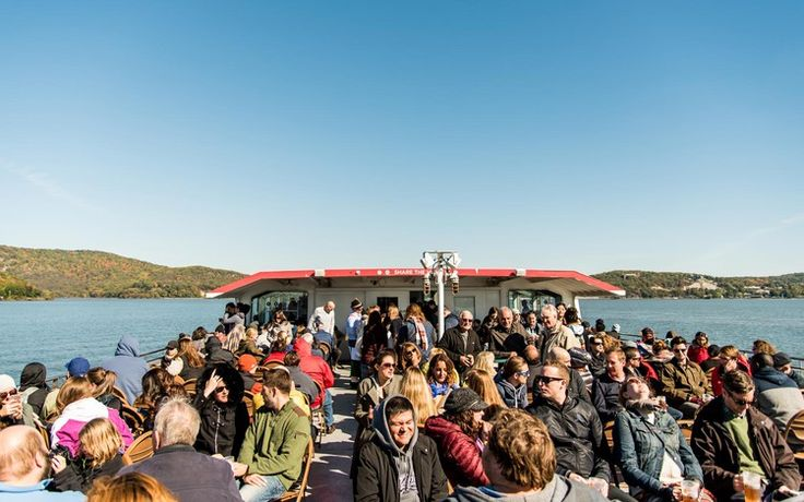 This Day Trip Will Have You Peeping Fall Foliage and Celebrating Oktoberfest While Cruising the Hudson River — Travel + Leisure