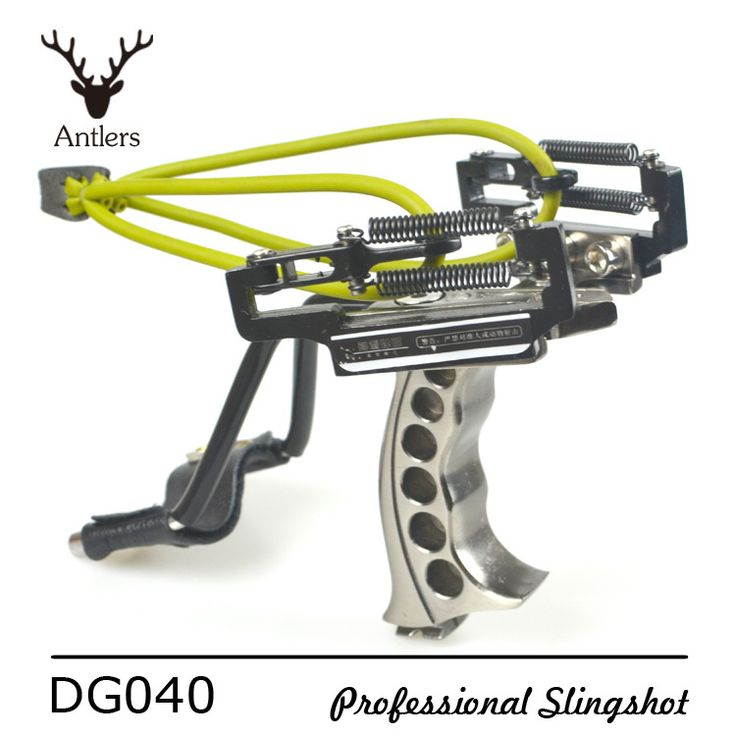 Antlers Super Slingshot Professional Powerful Catapult install laser/Flashlight Stainless steel leather Wrist tirachinas caza
