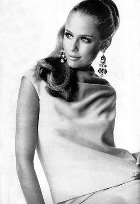 Lauren Hutton during the sixties