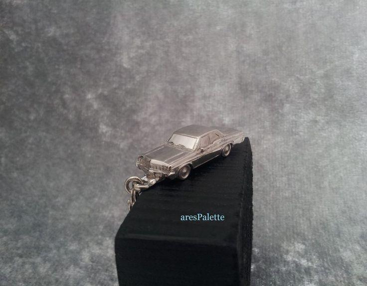 #carjewelry #cars #american #handmade #chevrolet #chevroletimpala http://Chevrolet Impala 1966 Keychain-Fully Handmade-925 Silver