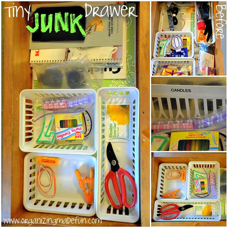 Organization Ideas For Junk Drawers: 17 Best Ideas About Junk Drawer On Pinterest