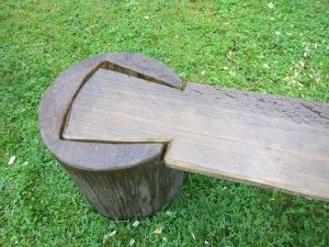 Cool bench joint from Taljfest via Robin Wood