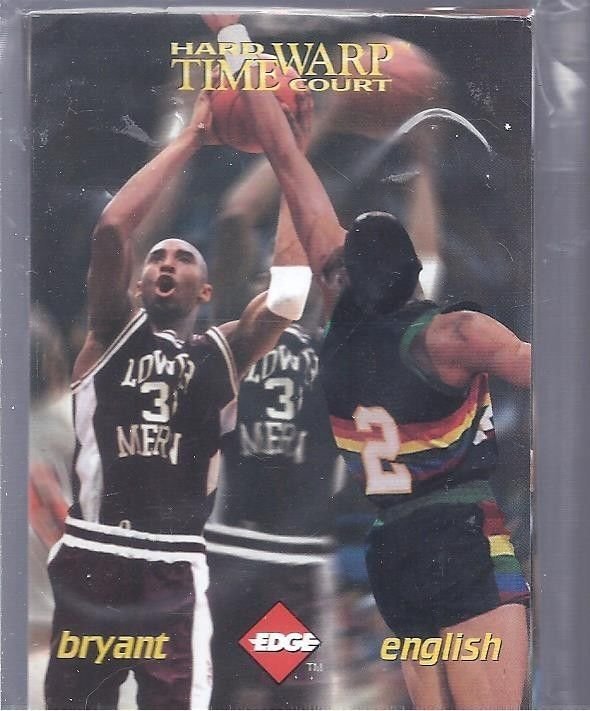 1996 Edge Hard Court Time Warp 12 Card Set--KOBE BRYANT Rookie Year #NA
