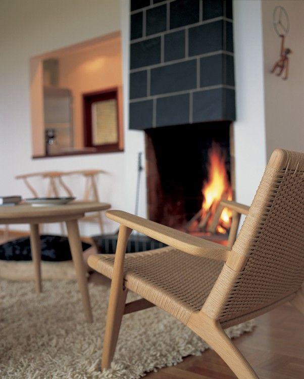 CH 25 - Eg/Sæbe - lys flet - Lænestole - Stole - Møbler