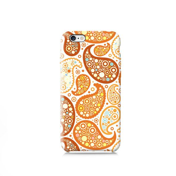 White Paisley Pattern iPhone 6 case iPhone 4 case by VDirectCases
