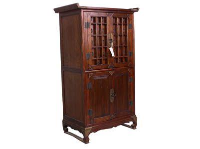 Korean furniture korea medicine cabinet chinese for Reproduction oriental furniture
