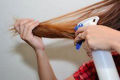 25 Oberes Haar glatt