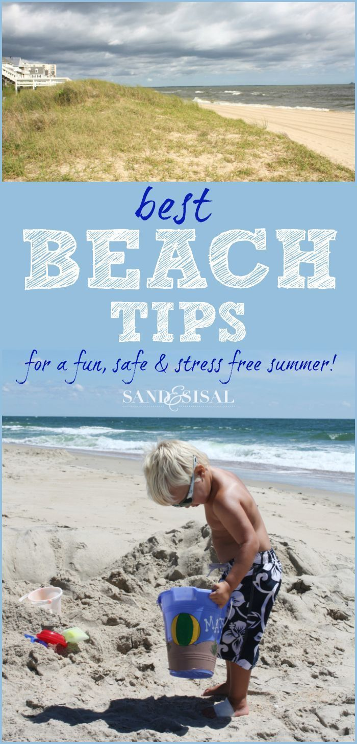 Best Beach Tips / Hacks for a fun, safe and stress free summer. From Jelly fish sting remedy to how to avoid sharks! MUST READ if you are heading to the beach!