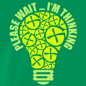 geocaching sverige | PLEASE WAIT ... I'M THINKING T-shirts - Premium-T-shirt herr