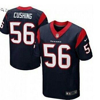Brian Cushing Houston Texans Nike Elite Jersey – Navy Blue