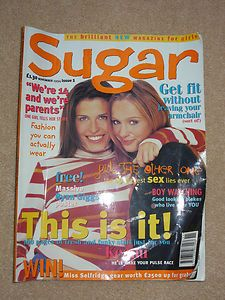 Sugar Magazine - My 1st 'grown up' magazine. I used to love the embarrassing stories and the problem pages. #LJM