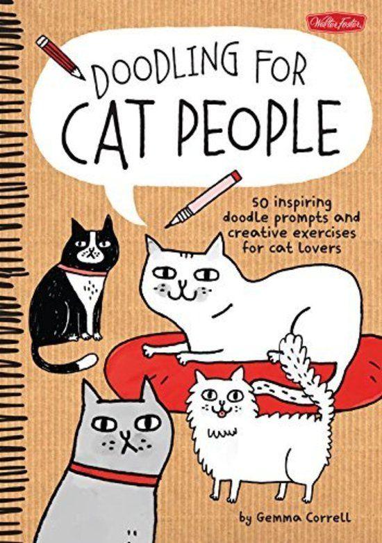 Doodle boek van de favoriete illustratrice. :-)