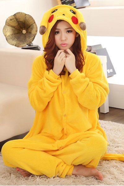 $30! Pikachu Pokemon Costume Adult Medium Halloween Faster Shipping  Located in USA! #CompleteCostume