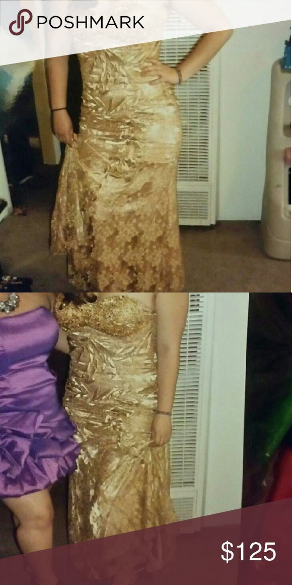 Post #2 for rose gold ball dress Post #2 for extra pics for rose gold ball dress Aspeed Dresses Prom