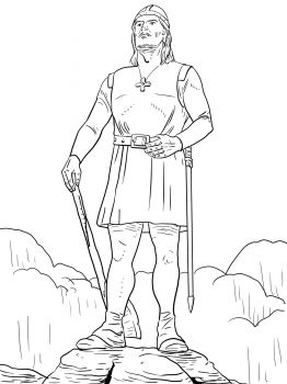 Leif Erikson coloring pages