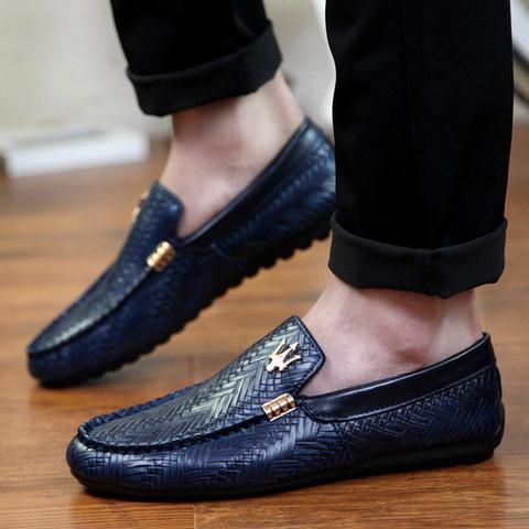 Hermes Men Shoes Loafers Suede